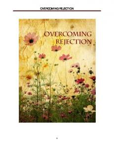 OVERCOMING REJECTION 1