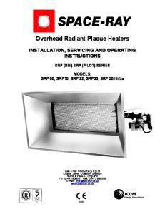 Overhead Radiant Plaque Heaters