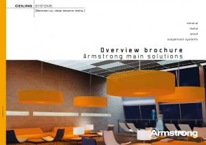 Overview brochure Armstrong main solutions