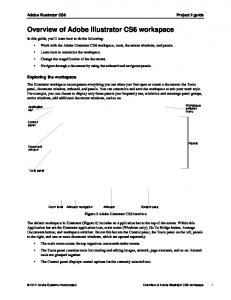 Overview of Adobe Illustrator CS6 workspace