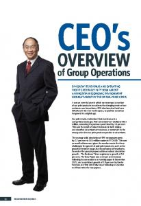 Overview. of Group Operations