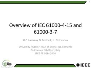 Overview of IEC and