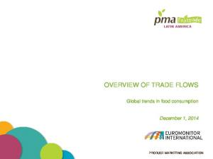 OVERVIEW OF TRADE FLOWS
