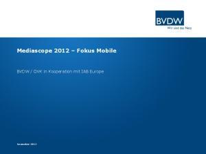 OVK in Kooperation mit IAB Europe