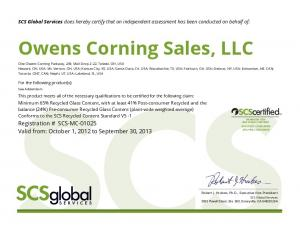 Owens Corning Sales, LLC
