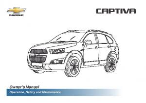Owner s Manual. Operation, Safety and Maintenance