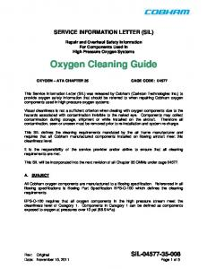 Oxygen Cleaning Guide