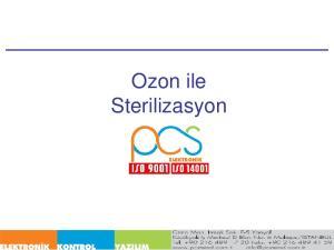 Ozon ile Sterilizasyon