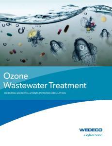 Ozone Wastewater Treatment