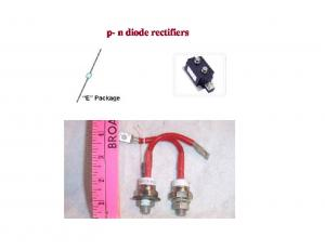 p- n diode rectifiers