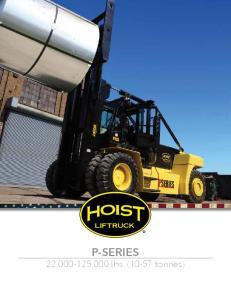 P-SERIES 22, ,000 lbs. (10-57 tonnes)