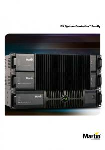 P3 System Controller Family