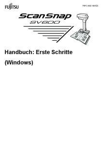 P3PC DEZ2. Handbuch: Erste Schritte (Windows)