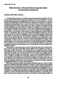 Pablo Serrano y Venancio Blanco: apuntes sobre su escultura monumental