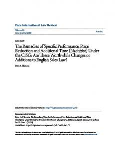 Pace International Law Review