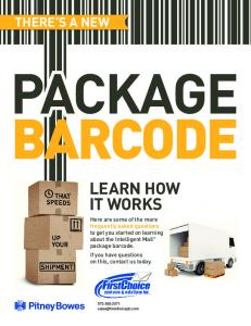 PACKAGE BARCODE LEARN HOW IT WORKS