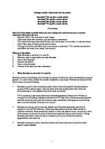 Package Leaflet: Information for the patient. eltrombopag