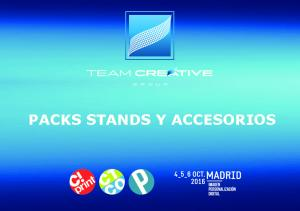 PACKS STANDS Y ACCESORIOS