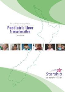 Paediatric Liver Transplantation