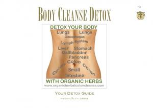 Page 1 BODY CLEANSE DETOX YOUR DETOX GUIDE NATURAL BODY CLEANSE