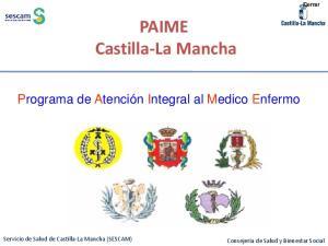 PAIME Castilla-La Mancha