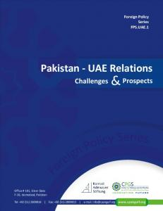 Pakistan - UAE Relations