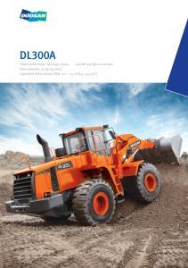 Pala mecánica : DOOSAN DL300A Poderosa pala mecánica con originales características