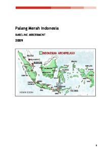 Palang Merah Indonesia BASELINE ASSESSMENT