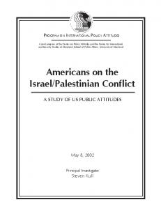 Palestinian Conflict