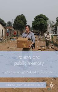Palgrave Macmillan Memory Studies