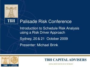 Palisade Risk Conference