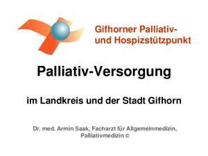 Palliativ-Versorgung