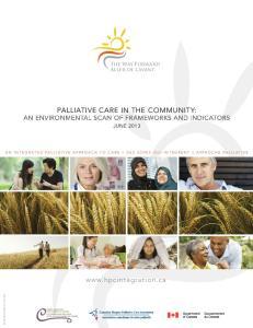 palliative care in the community: