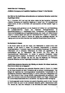 Palliative Versorgung und hospizliche Begleitung in Hessen in Bad Nauheim