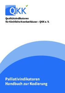 Palliativindikatoren Handbuch zur Kodierung