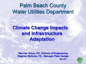Palm Beach County Water Utilities Department