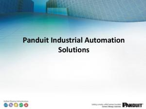 Panduit Industrial Automation Solutions