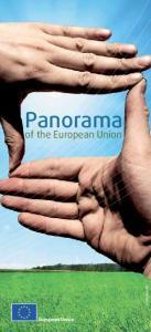 Panorama. of the European Union. European Union. istockphoto