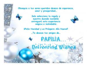 PAPILIA Delivering Wishes