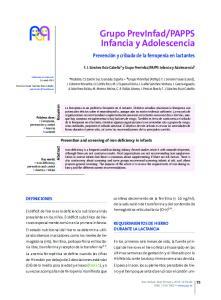 PAPPS Infancia y Adolescencia