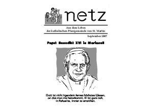 Papst Benedikt XVI in Mariazell
