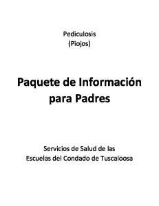 Paquete de Información para Padres