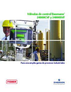 Para una amplia gama de procesos industriales