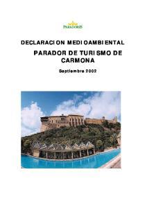 PARADOR DE TURISMO DE CARMONA