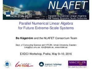 Parallel Numerical Linear Algebra for Future Extreme-Scale Systems