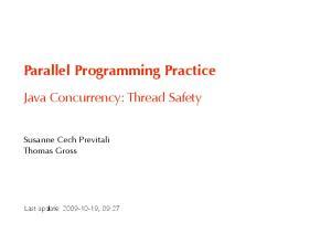 Parallel Programming Practice
