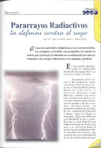 Pararrayos Radiactivos
