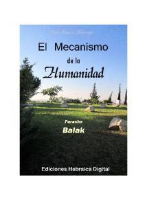 PARASHA BALAK: EL MECANISMO DE LA HUMANIDAD