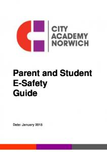 Parent and Student E-Safety Guide