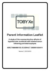 Parent Information Leaflet